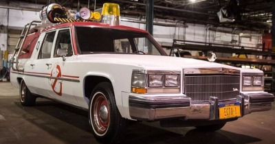 Les Ghostbusters reviennent, Ecto-1 aussi !
