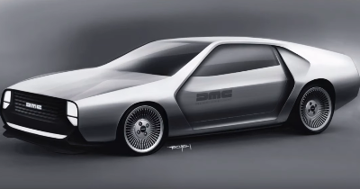 Et si on modernisait la Delorean DMC-12 ?