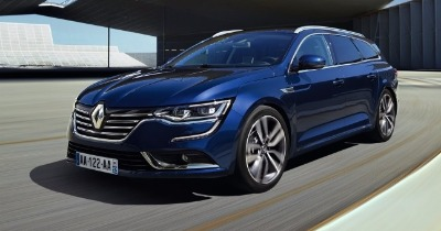 Un break Renault statutaire avec Talisman Estate