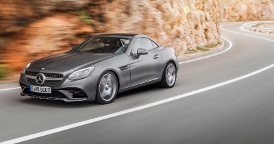 Victime du downsizing : Mercedes SLC