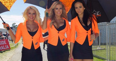 Adieu les grid girls !