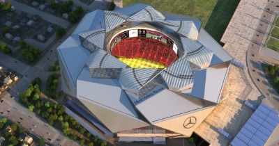 L'incroyable stade d'Atlanta portera le nom de Mercedes-Benz