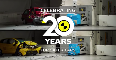 20 ans d'Euro NCAP en un crash test comparatif
