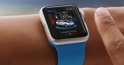 L'Apple Watch connectée à l'automobile (allemande)