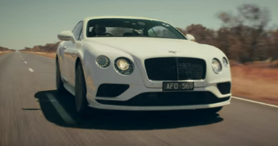 À 331 km/h dans l'Outback en Bentley Continental GT Speed
